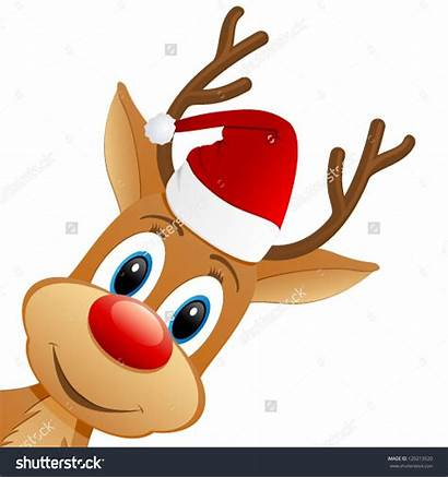 Clipart Weihnachtsmotive Christmas Reindeer Funny Xmas Clip