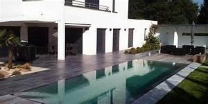 diiferentes piscines et amenagement exterieur With amenagement d une terrasse exterieure 11 avant apras une maison julien rhinn