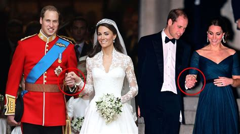 why william doesn t wear a wedding ring but kate