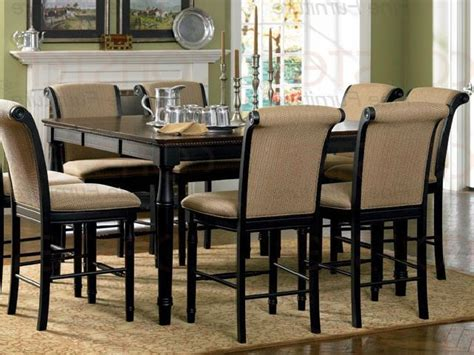 seats  counter height dining table set counter
