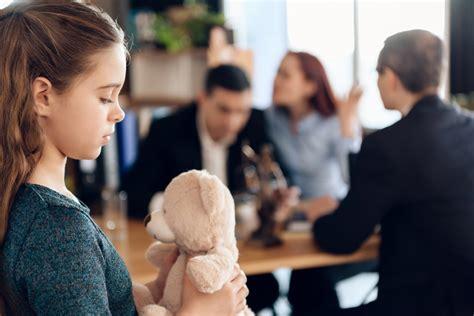child custody decision  divorce  impact