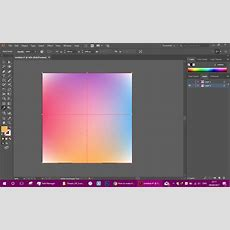 How To Make 4 Gradient Color On 4 Side, Each Color Make A