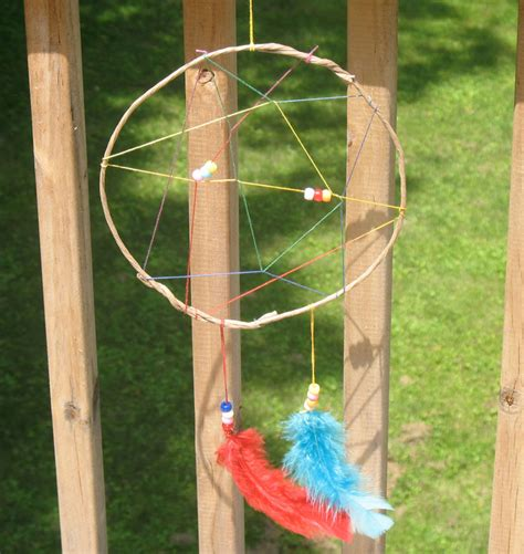 Craft Rainbow Dream Catchers