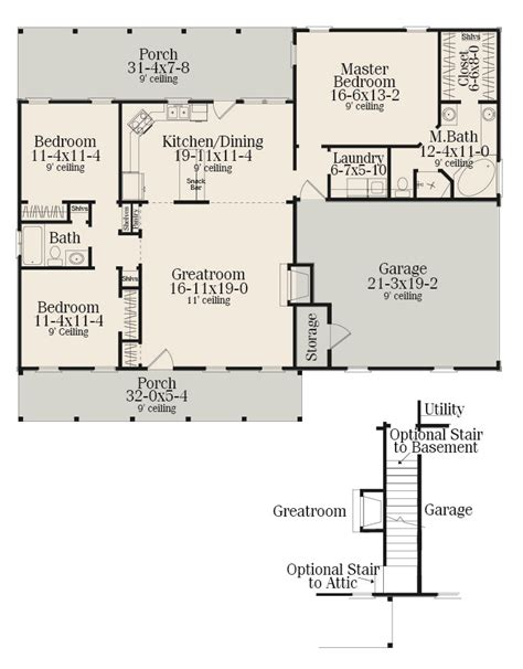 narrow lot house plans with rear garage this cozy southern ranch house plan now has an isometric
