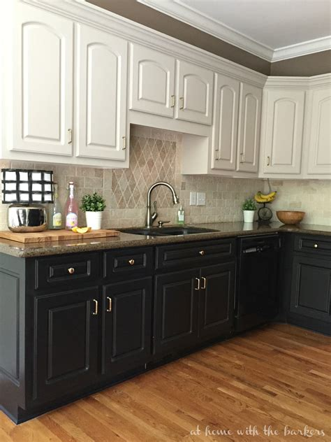 black kitchen cabinets  ugly truth  home