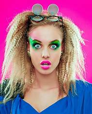 80s Makeup And Hair Styles