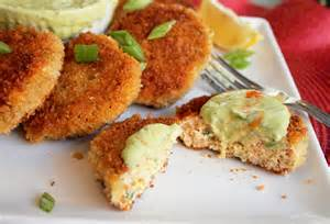 Salmon Croquettes with Sauce