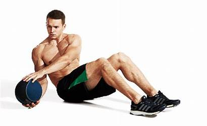 Twist Russian Ball Twists Medicine Exercise Abs