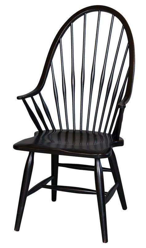 Windsor Chair with Arms   Stock Swap Furniture Consignment