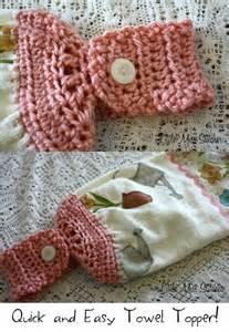 Free Easy Crochet Towel Topper Pattern