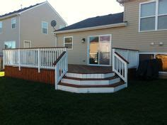 cabot deck stain  semi solid  redwood  deck