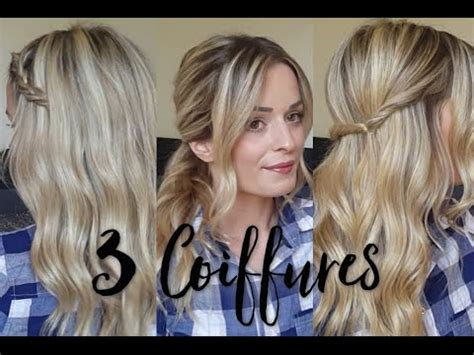 minutes  coiffures par angelia hairstyle addict youtube