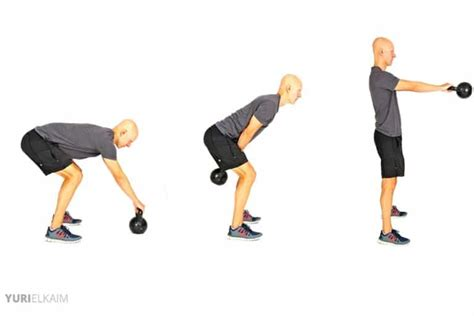 glute exercises kettlebell swings loss weight workout glutes exercise workouts swing gym kb hip core muscles training guide printable bodybuilding