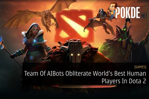 team  aibots obliterate worlds  human players