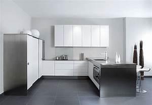 Küche U Form Mit Theke : designorientierte u form k che in cocoswei mit edelstahl ~ Michelbontemps.com Haus und Dekorationen