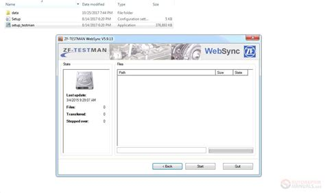 zf testman diagnostic software base installation