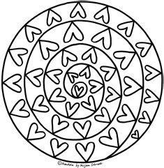 mandalas für grundschulkinder mandalas zum ausdrucken und ausmalen herz mandala mandalas