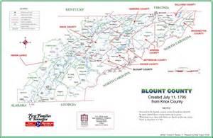 Blount County TN Map