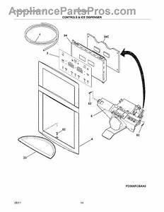 Parts For Frigidaire Lgub2642lf4  Controls  U0026 Ice Dispenser