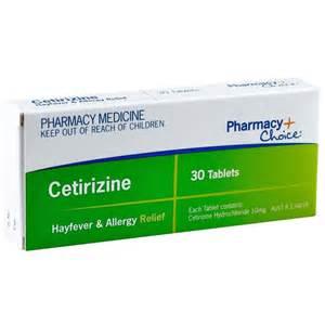 Pharmacy Choice Cetirizine Allergy Relief Tablets 30 (Same as Zyrtec ... Cetirizine