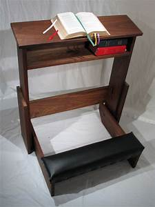 Prayer Kneeler - Prayer Bench - Prie Dieu - Prayer Desk