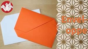 Comment Fabriquer Une Enveloppe : origami enveloppe envelope senbazuru youtube ~ Melissatoandfro.com Idées de Décoration