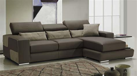 canapé d angle marron canapé d 39 angle réversible en cuir marron pas cher canapé