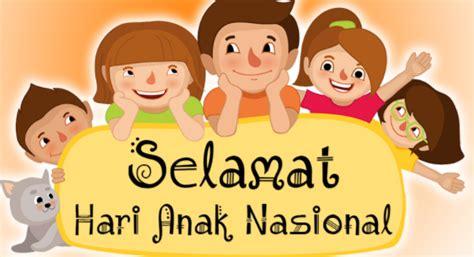 kumpulan gambar selamat hari anak nasional