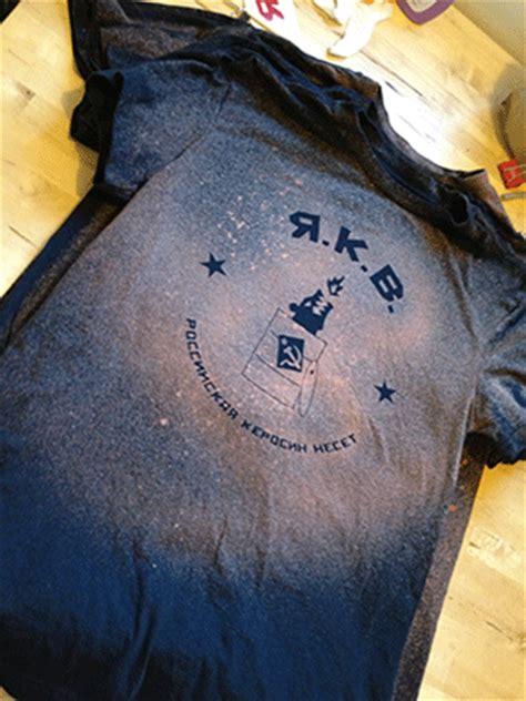 stencil   shirt  bleach   vinyl sticker