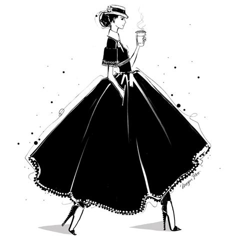 Fashion illustrator Megan Hess on how drawing dresses became a career   Vogue Australia