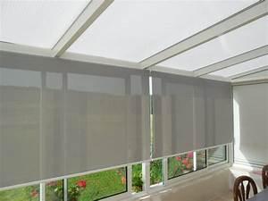 Store Enrouleur Bois : store enrouleurs de v randa apl textiles ~ Premium-room.com Idées de Décoration