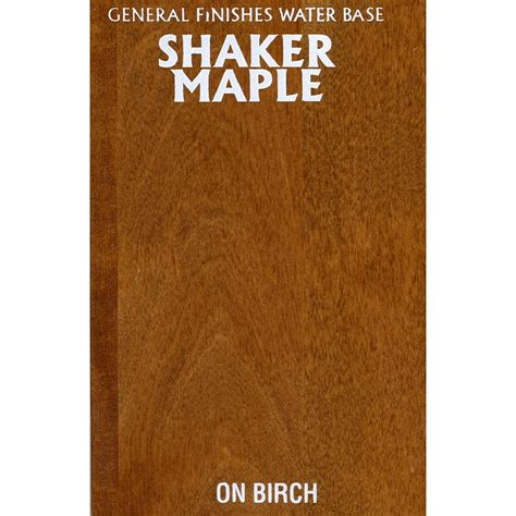 wood stain shaker maple ml
