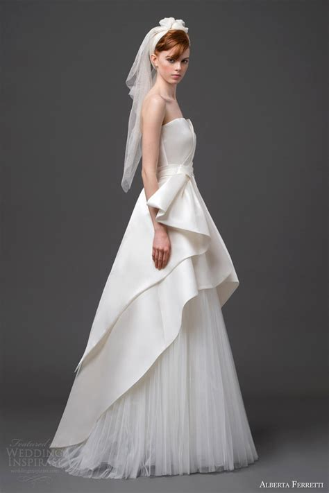 alberta ferretti wedding dresses   bridal
