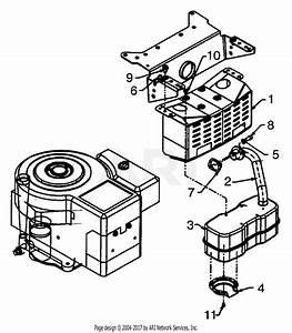 Mtd 13an690g352  2001  Parts Diagram For Engine