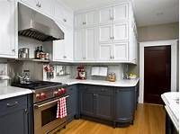 colored kitchen cabinets Two Color Kitchen Cabinets - Home Furniture Design