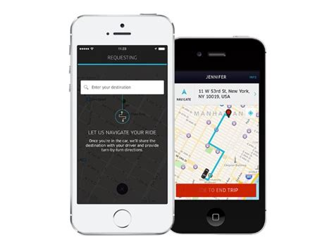 Uber Update Brings Destination Entry And Turn-by-turn