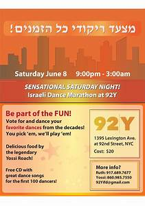 SENSATIONAL SATURDAY NIGHT! Israeli Dance Marathon at 92Y ...