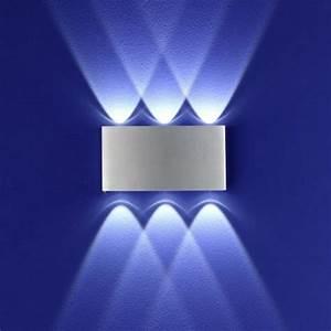 Led Lampen Mit Bewegungsmelder Innen : b leuchten led wandleuchte stream aluminium wohnlicht ~ One.caynefoto.club Haus und Dekorationen