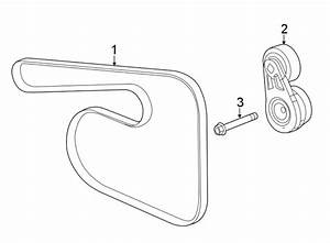 Buick Regal Tourx Accessory Drive Belt Tensioner Assembly