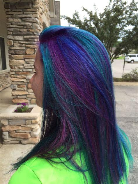 The 25 Best Peacock Hair Color Ideas On Pinterest