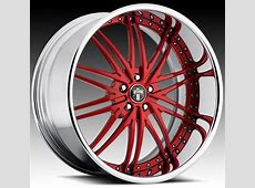 Custom Red and Black Rims Series C19 Mixer Red