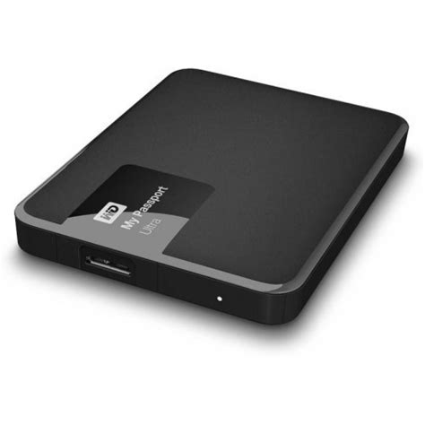 wd my passport ultra 1 tb wired external disk drive