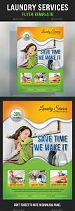 laundry flyers templates - laundry services flyer template by rapidgraf graphicriver