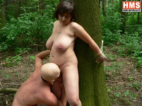 Chunky Mature Fucked By A Masked Man In The Woods Pichunter