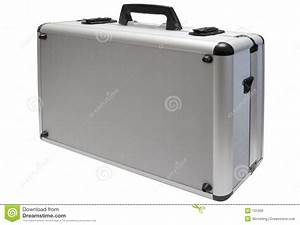 Metal Briefcase W/ Path Royalty Free Stock Images - Image ...