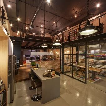 manhattan loft interior design office