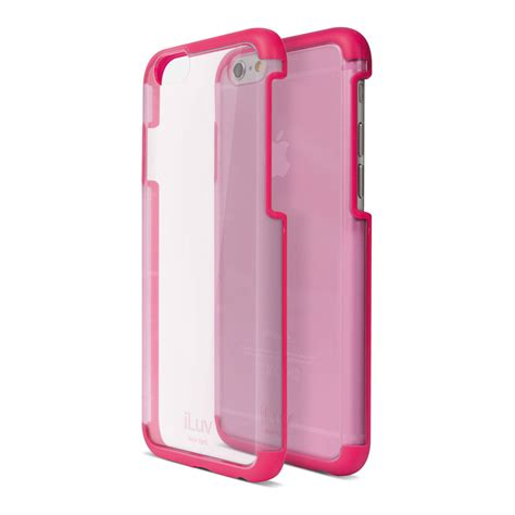 iphone 6 pink iluv vyneer for iphone 6 6s pink ai6vynepn b h photo