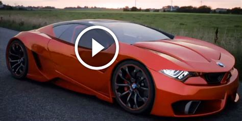 All-new Supercar Called Bmw M9 Concept Should Be Expected
