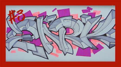 Graffiti Paper : Graffiti On Paper- #3 Zark (promarkers)