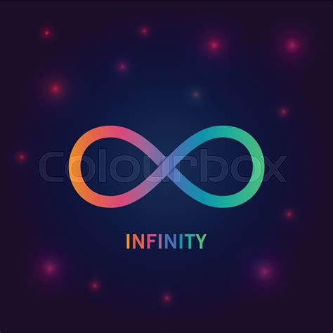 Infiniti Backgrounds by Infinity Symbol Vector Background Stock Vector